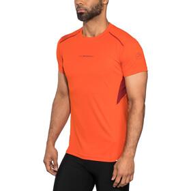 La Sportiva Blitz T-Shirt Herren pumpkin/chili
